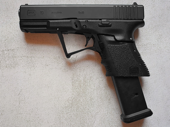 Full Conceal Folding Glock 19 pistol open