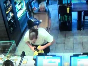 Fresno Starbucks Armed Robbery Good Samaritan