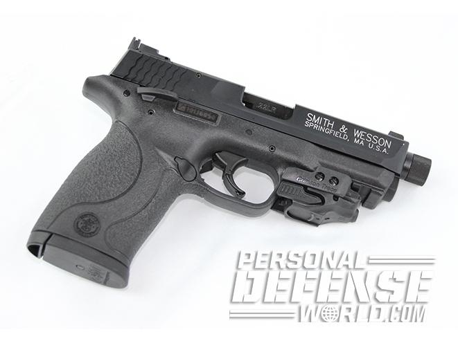smith & wesson m&p22 compact threaded barrel