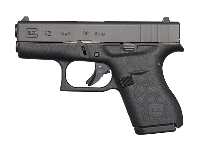 Best Handguns For Women Glock 42