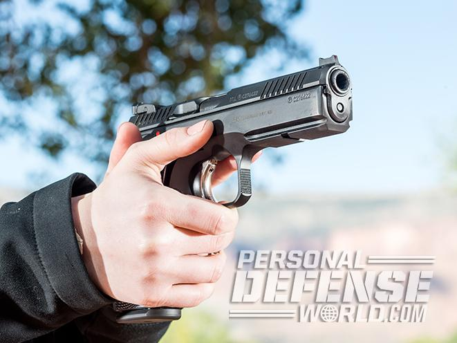 CZ Shadow 2 Pistol aim range Athlon Outdoors Rendezvous