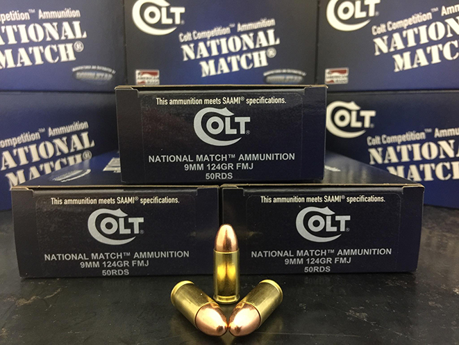 Colt National Match new ammo