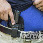 Heckler & Koch VP9SK pistol holster draw