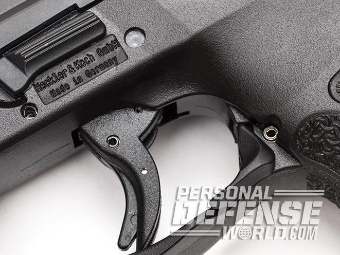 Heckler & Koch VP9SK pistol trigger