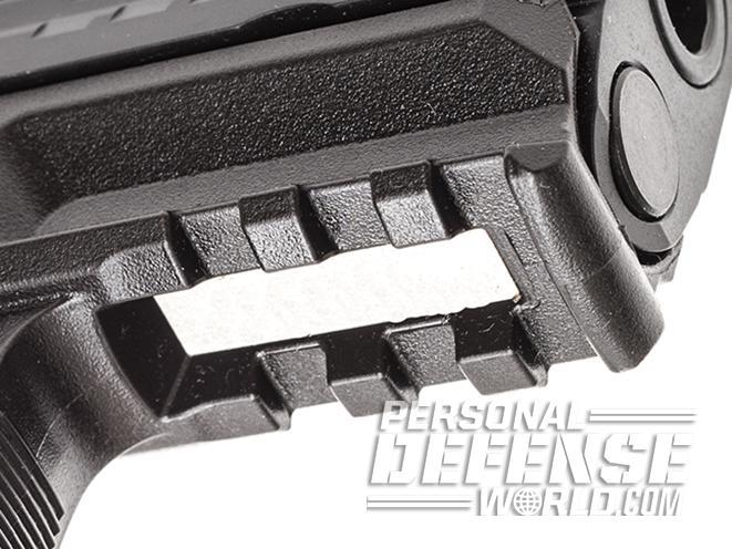 Heckler & Koch VP9SK pistol rail