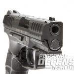 Heckler & Koch VP9SK pistol front angle