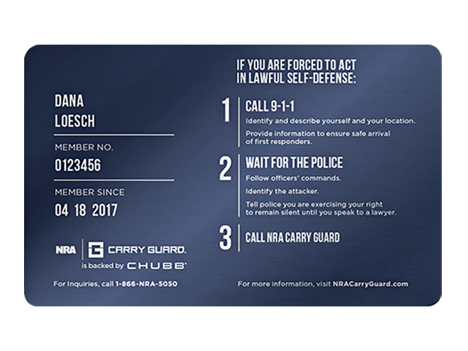 nra carry guard card
