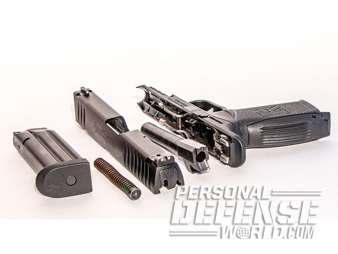 Remington RP9 PISTOL field stripped