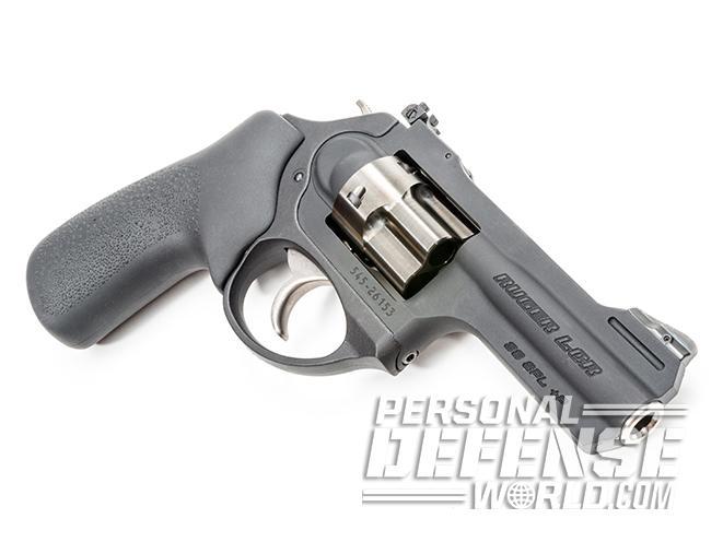 Ruger LCRx revolver left profile