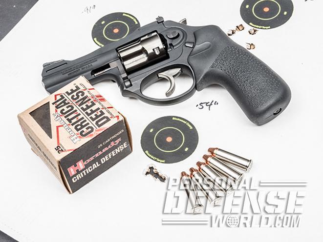 Ruger LCRx revolver test