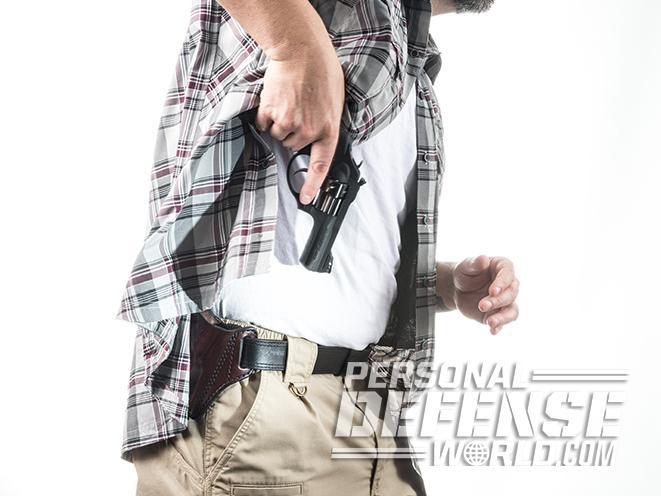Ruger LCRx revolver concealed carry