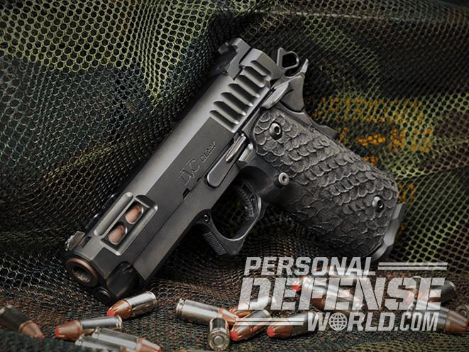 STI DVC Carry pistol left profile
