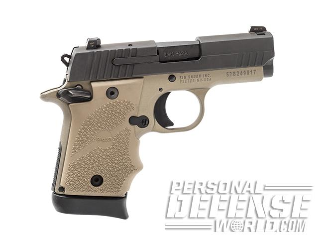 Sig Sauer P938 Combat pistol left profile