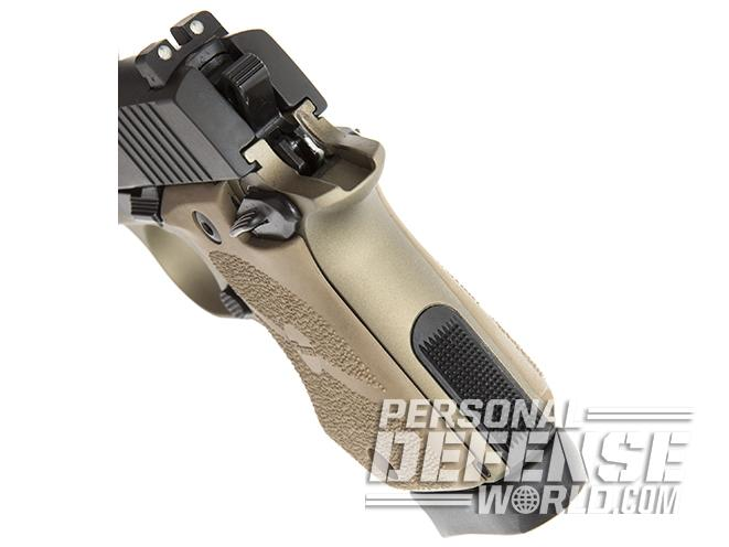 Sig Sauer P938 Combat pistol rear sight