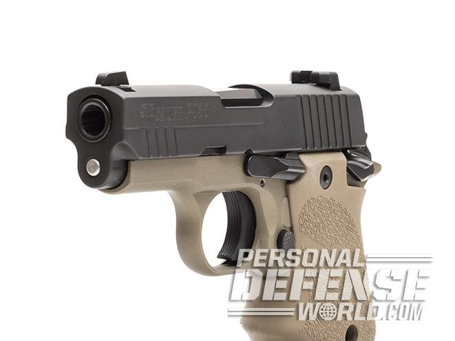Sig Sauer P938 Combat pistol front angle