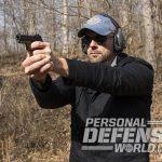 Sig Sauer P938 Combat pistol shooting