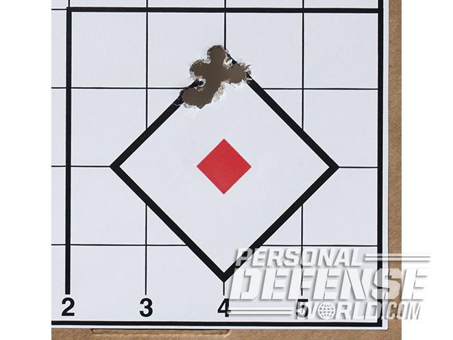 Sig Sauer P938 Combat pistol target