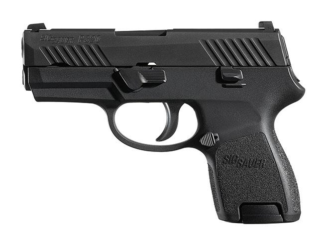 sig sauer pistols P320 Subcompact