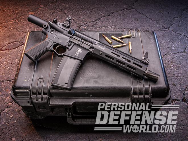 Troy P7A1 pistol