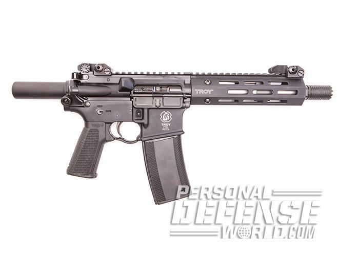 Troy P7A1 pistol left profile