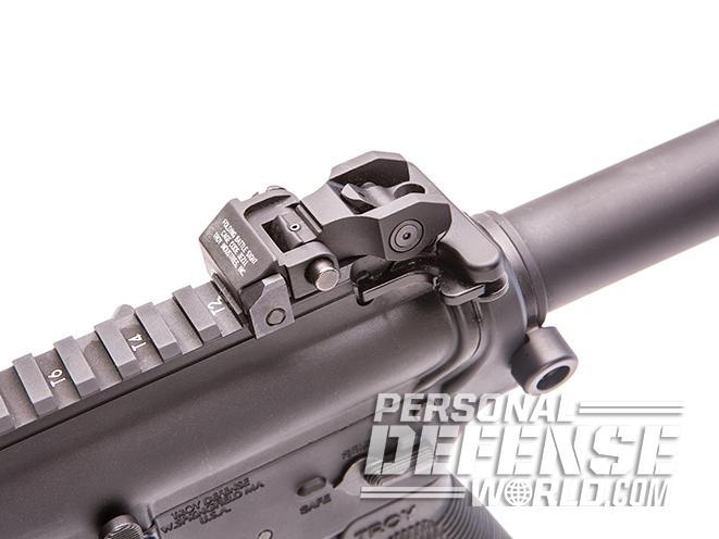 Troy P7A1 pistol sights