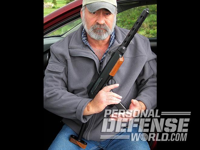 Wilkinson Linda Carbine holding