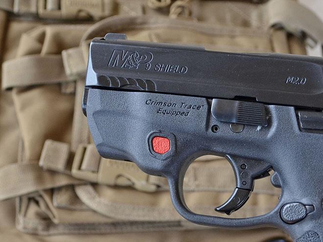 Smith & Wesson M&P Shield M2.0 Pistol athlon outdoors rendezvous CT laser