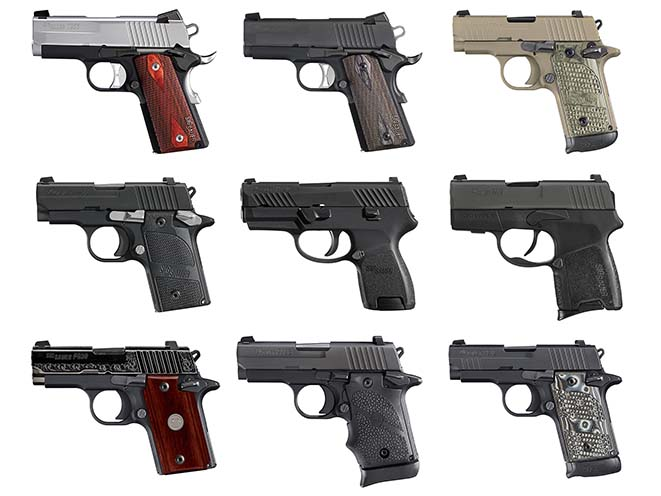 Tiny Defenders: 9 Reliable, Subcompact Sig Sauer Pistols
