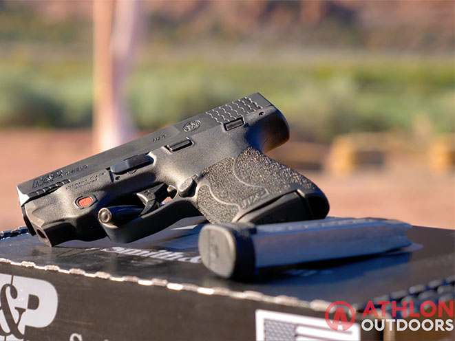 Smith & Wesson M&P Shield M2.0 Pistol Range Athlon outdoors Rendezvous