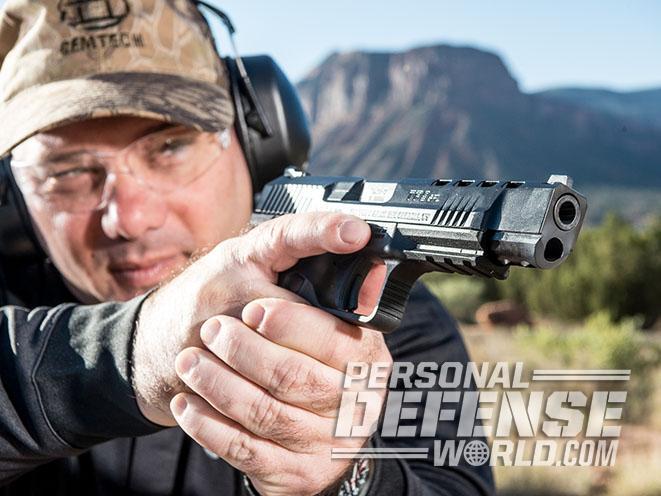 Canik TP9SFL pistol Athlon Outdoors Rendezvous aim