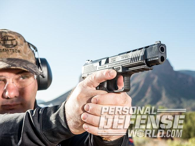 Canik TP9SFL pistol Athlon Outdoors Rendezvous lead