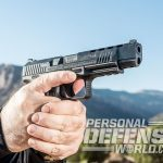 Canik TP9SFL pistol Athlon Outdoors Rendezvous profile