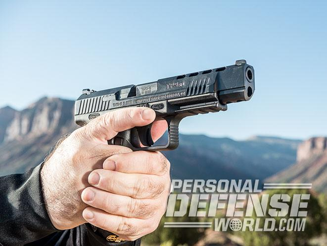 Canik TP9SFL pistol Athlon Outdoors Rendezvous profile