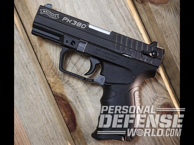 Walther PK380 380 pistols profile