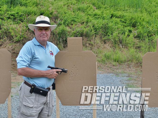 polymer 45 pistol target