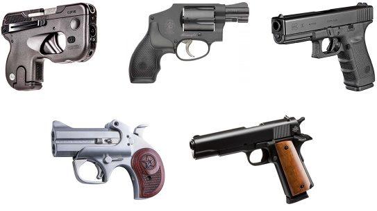 5 pistols under $500
