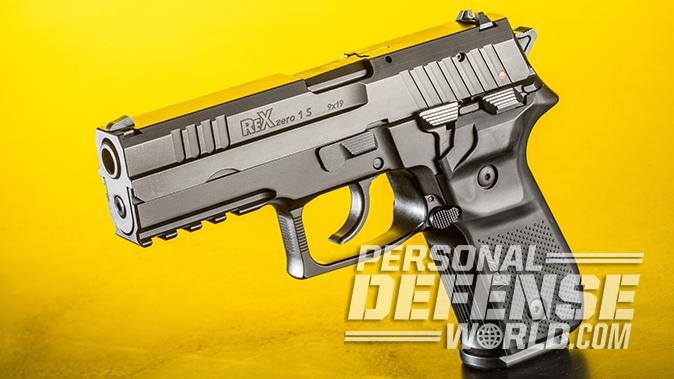 Arex Rex Zero 1S pistol