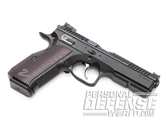 CZ Shadow 2 pistol left angle  sc 1 st  Personal Defense World & Gun Review: The CZ Shadow 2 9mm Competition Pistol azcodes.com