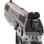 CZ Shadow 2 pistol rear sight