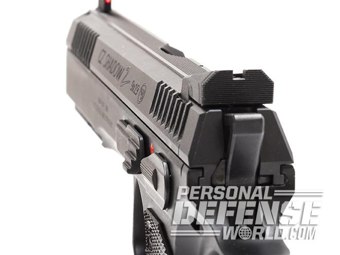 CZ Shadow 2 pistol rear sight  sc 1 st  Personal Defense World & Gun Review: The CZ Shadow 2 9mm Competition Pistol