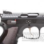 CZ Shadow 2 pistol triggerguard