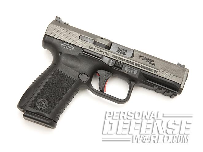 Canik TP9SF Elite pistol right profile