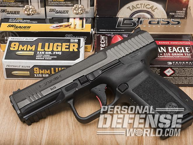 Next-Gen Striker: Testing the Canik TP9SF Elite Pistol