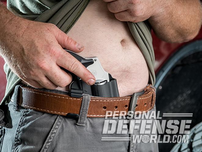 Comp-Tac 2 O'Clock IWB model 642 holster grip