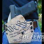 Cascade Kydex concealment holster