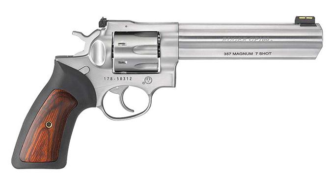 Ruger GP100 6-Inch Barrel revolver