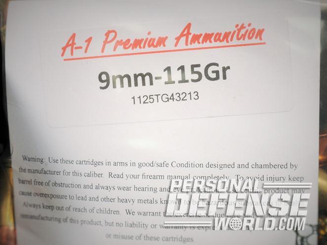 a-1 premium handgun ammo