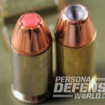 handgun ammo closeup