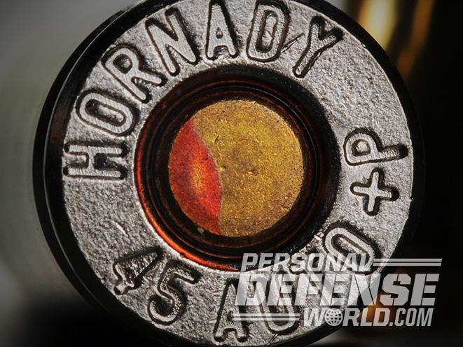 handgun ammo hornady 45 auto +p