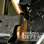 handgun ammo magazine closeup